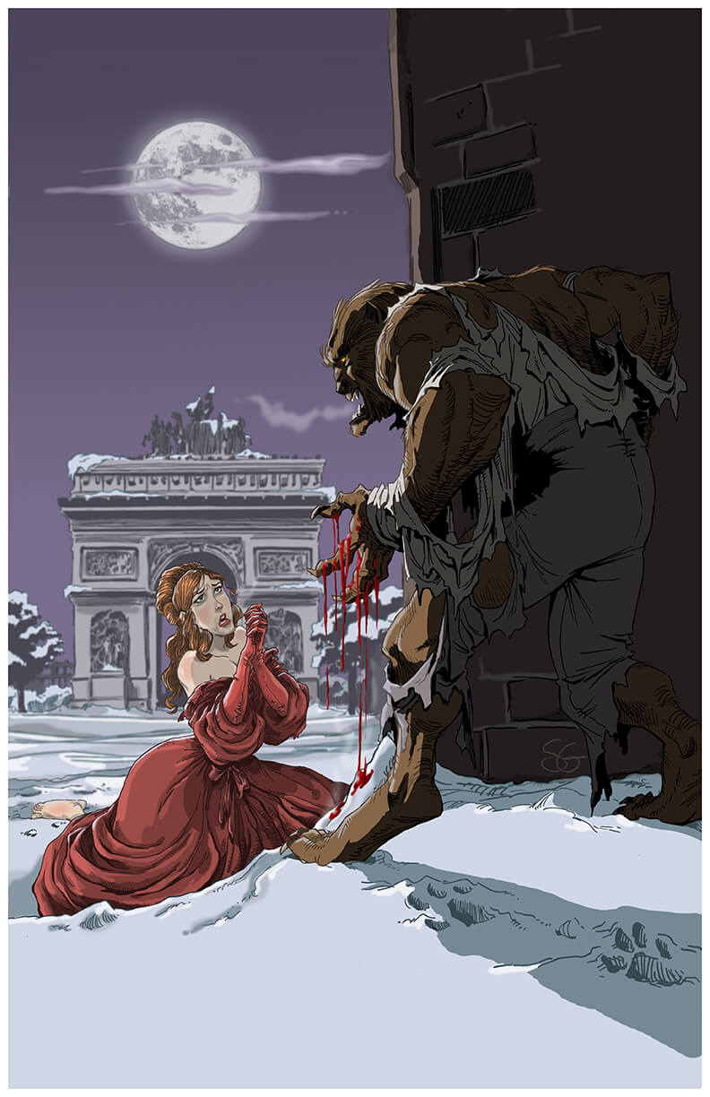 Werewolf in Paris