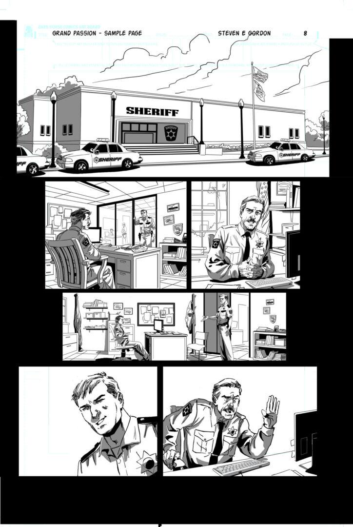 The Art of Steven E. Gordon